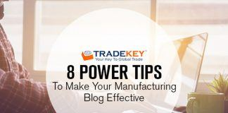 8 Power Tips to Make Your Manufacturing Blog Effective